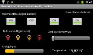 Android project smart home automation