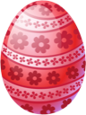 Easter egg red