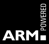 Arm Cortex powered logo