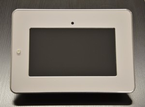 Ltouch with white frame and power button