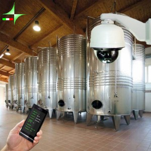 Winery automation and video surveillance
