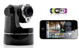iPhone Video surveillance